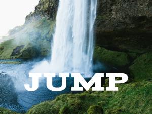 waterfall-jump
