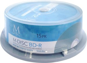 M-Disc Blu-Ray 15-pack